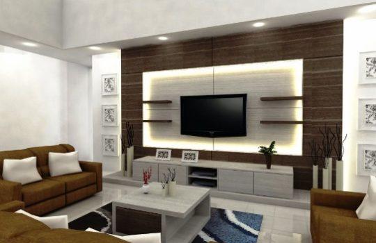 Desain Ruang Keluarga Minimalis Mewah