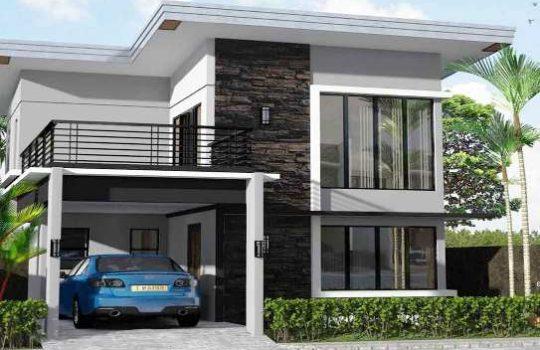 Desain Rumah 2 Lantai Modern Minimalis Terbaik