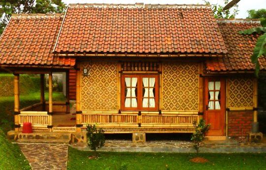 Desain Rumah Anyaman Bambu Terbaru