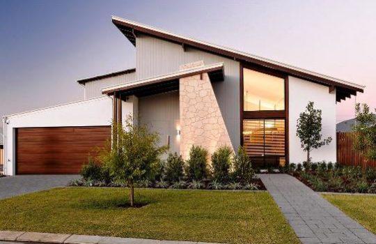 Desain Rumah Atap Miring Ke Samping Bagus Sekali