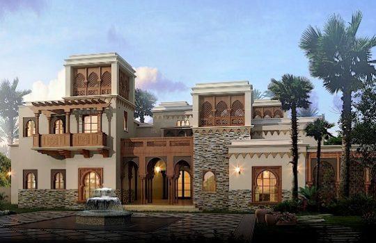 Gambar Desain Rumah Ala Arab Terbaru