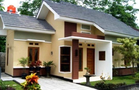 Gambar Desain Rumah Modern Minimalis 1 Lantai Tampak Depan