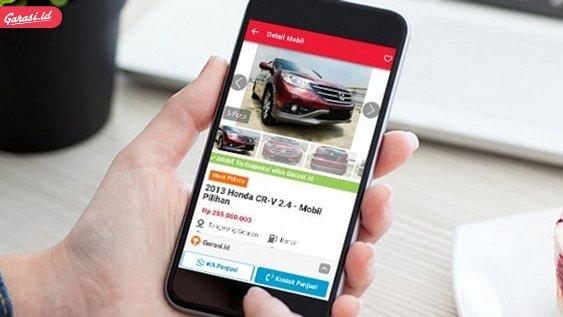 Aplikasi Jual Beli Mobil Bekas Garasi.id
