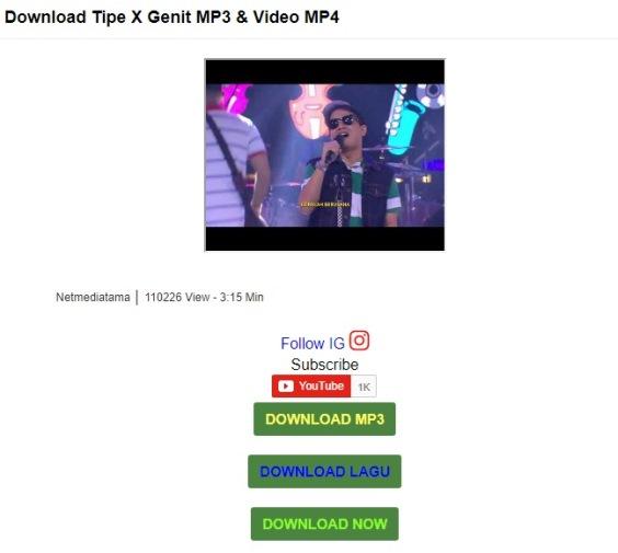 Saatnya Free Download MP3