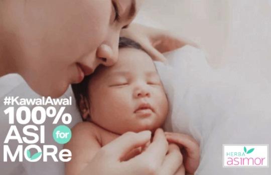 Herba ASIMOR Mendukung #100%asiformore untuk Pemenuhan Gizi Bayi
